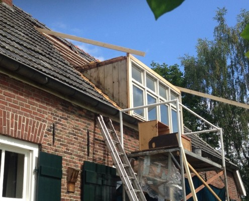 Dakkapel renovatie in winterswijk